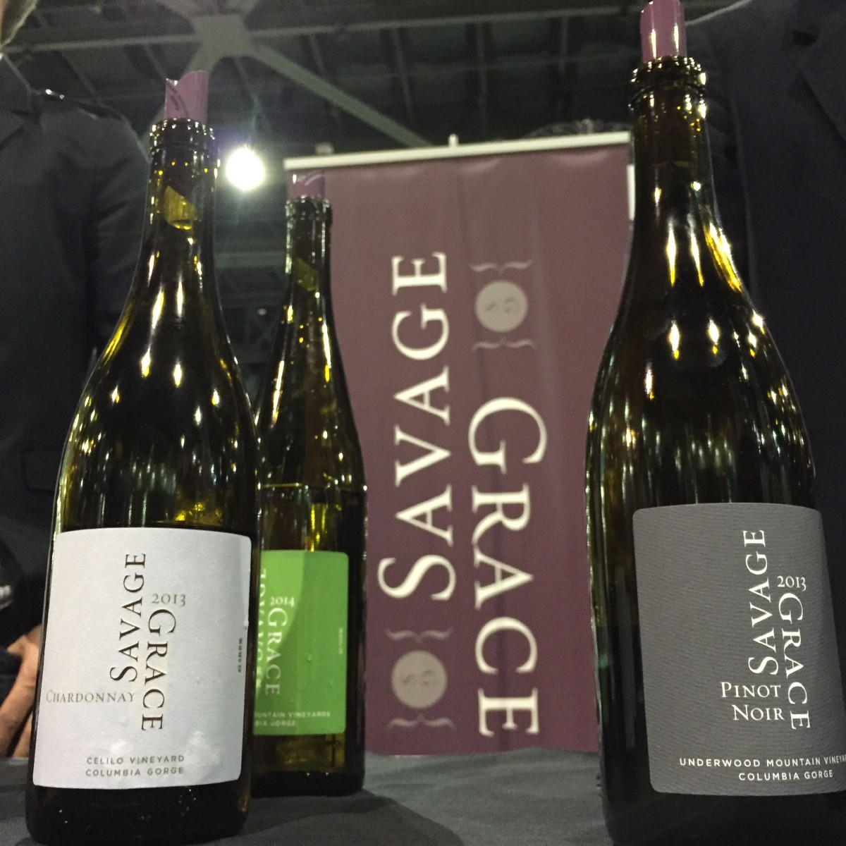 Woodinville's Savage Grace wines, one of my highlights of Taste Washington. (Image: Frank Guanco)