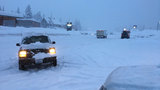 Snowstorm wreaks havoc along I-90 at Snoqualmie Pass