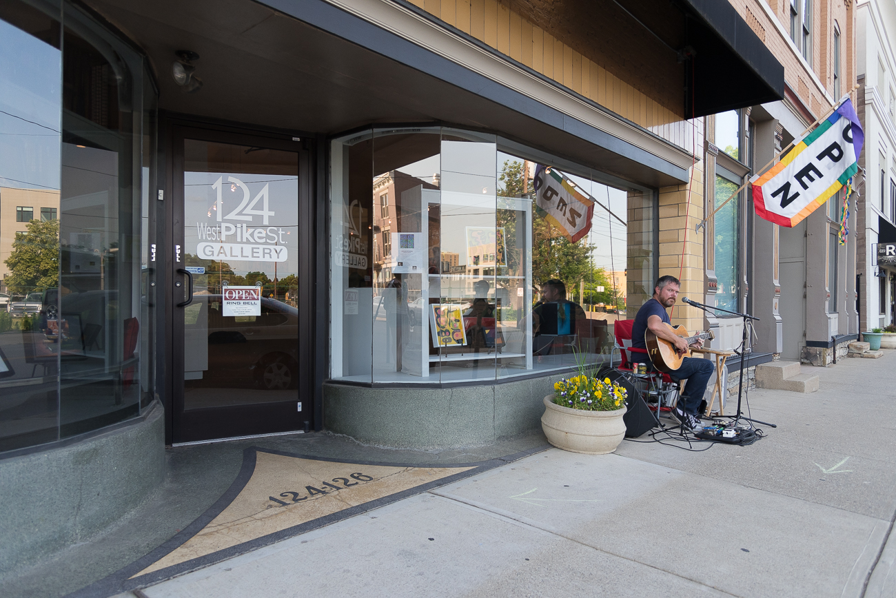 124 West Pike Street Gallery / Image: Phil Armstrong, Cincinnati Refined // Published: 6.8.18