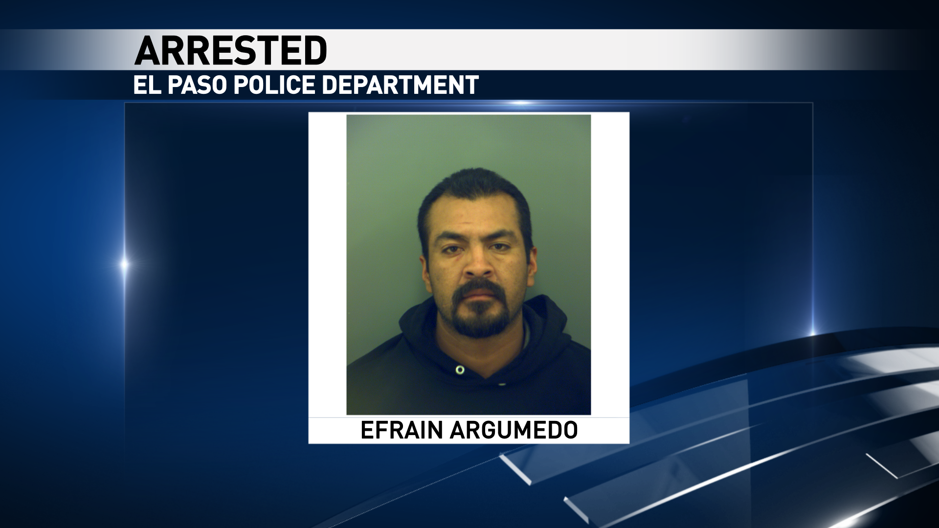 Mug shot of 35-year-old Efrain Argumedo. He is charged murder charge.