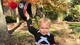 2-year-old shows he's ready to join the 'Best Damn Band in the Land'