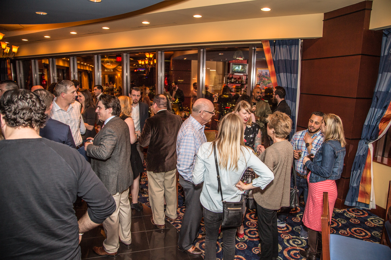 Cincinnati Refined hosted a private happy hour in the Metropolitan Club's Roebling Room on Friday, Feb. 24, 2017. Special thanks to Jim Beam for sponsoring the Basil Hayden's Kentucky Mules & Effen Vodka Moscow Mules respectively. ADDRESS: 50 E Rivercenter Blvd # 1900, Covington, KY 41011 / Image: Catherine Viox // Published: 2.25.17
