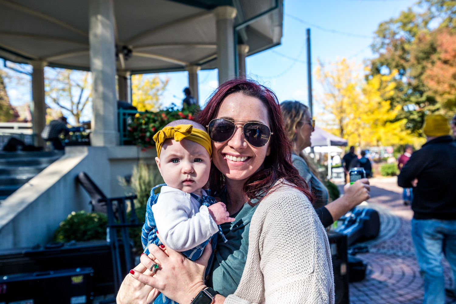 Heather & Billie Boyd at Fall Fest in Washington Park / Image: Catherine Viox // Published: 11.1.19