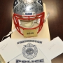 Thief sends restaurant stolen Patriots helmet, apology note