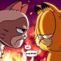Garfield meets Grumpy Cat in comic crossover