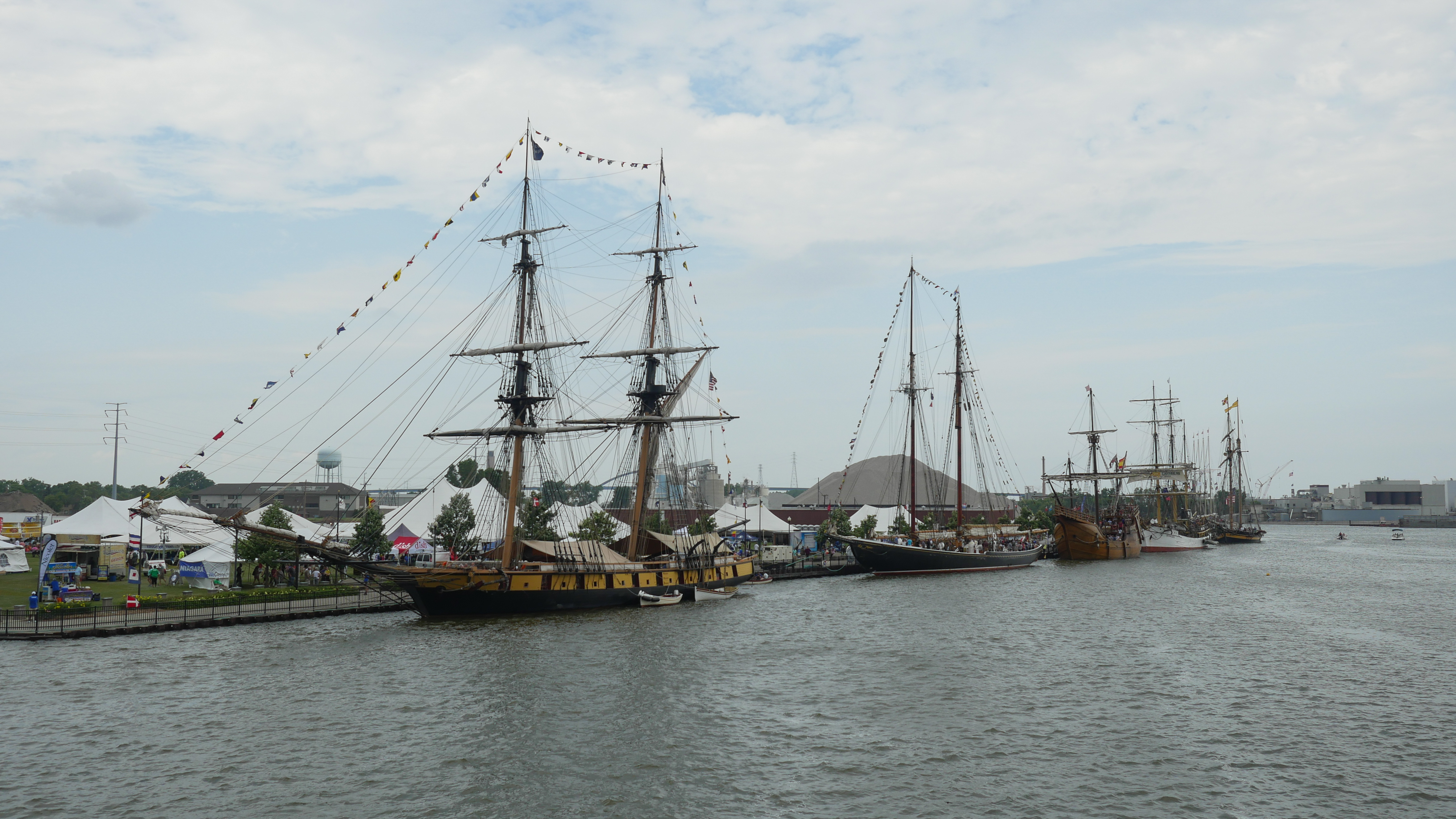 Tall Ships return to Green Bay, Friday, July 26, 2019 (WCWF/ Beni Petersen)