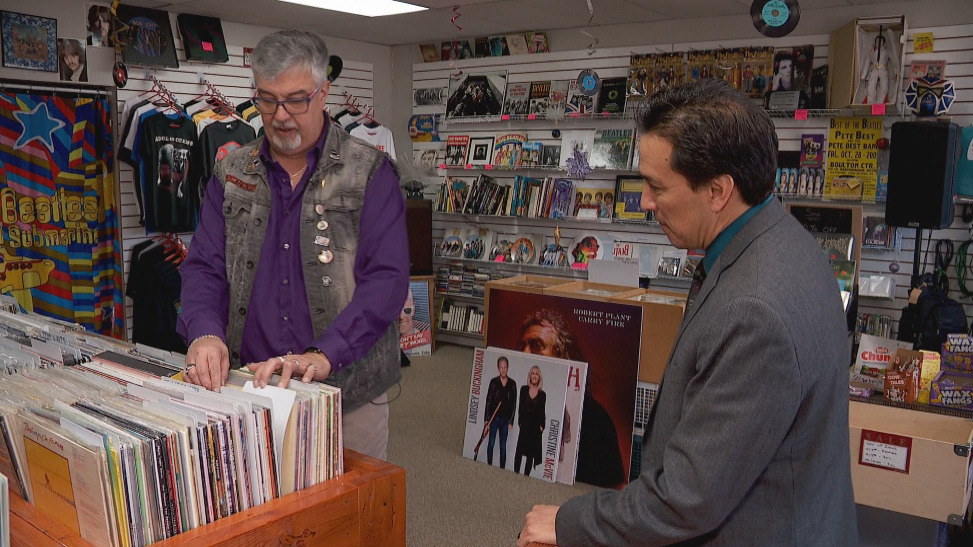 Inside the Story: Record store full of music, memories for former rocker and his wife (Photo: KUTV)