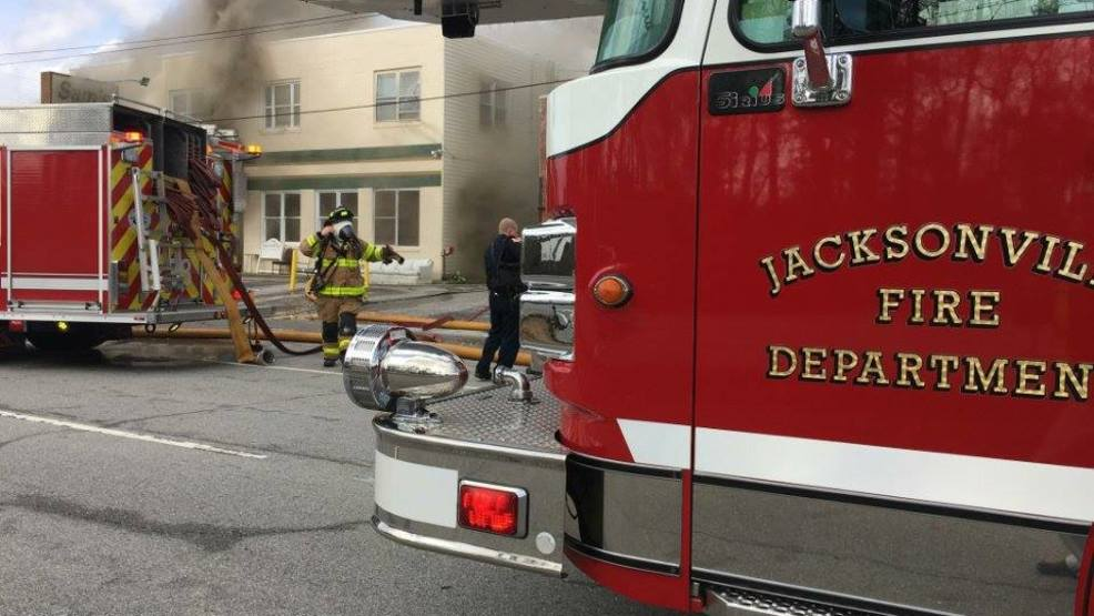 Jacksonville Furniture Store On Fire Wcti