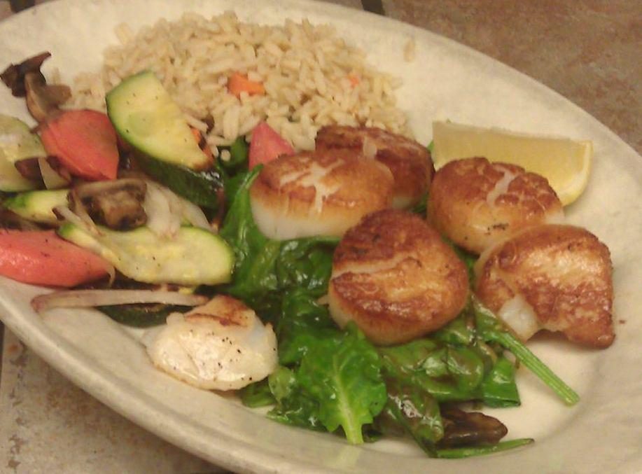 Scallop entree/ stir fry from Through the Garden in Blue Ash. (Image: provided)
