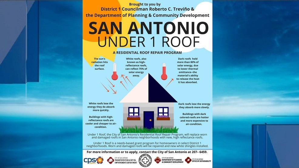 U0027Under 1 Roofu0027 Program Helps Homeowners In District 1 Neighborhoods