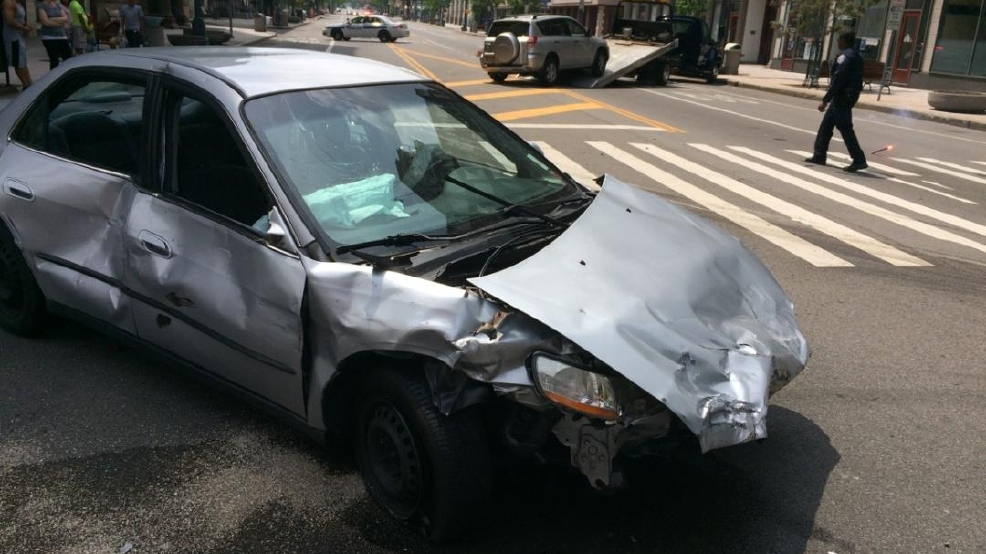 Three car crash at four corners intersection in Rochester | WHAM