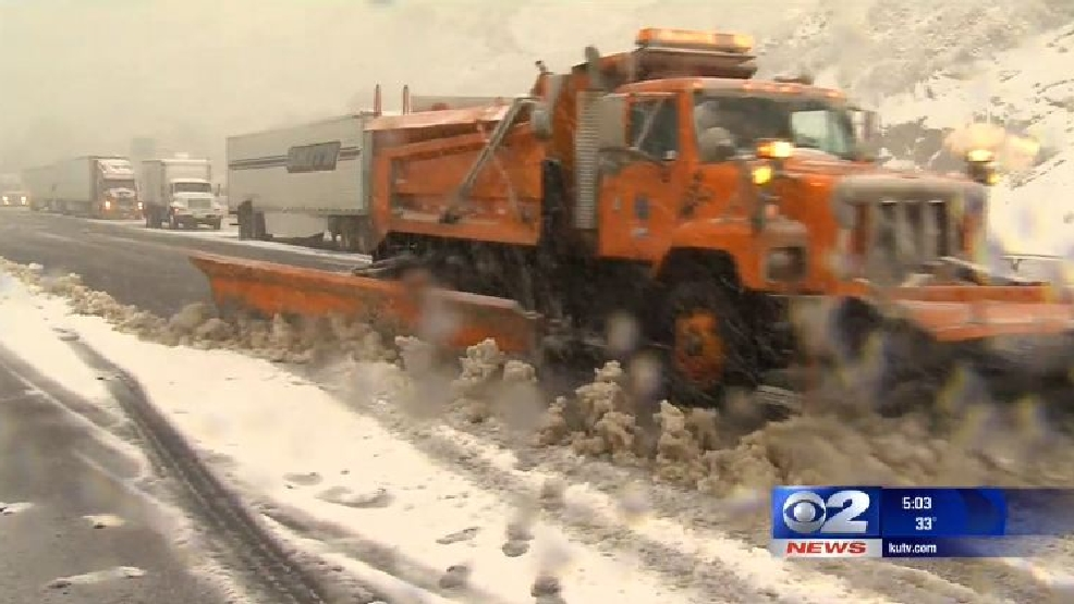 UDOT releases app udpate allowing you to track snow plows | KUTV
