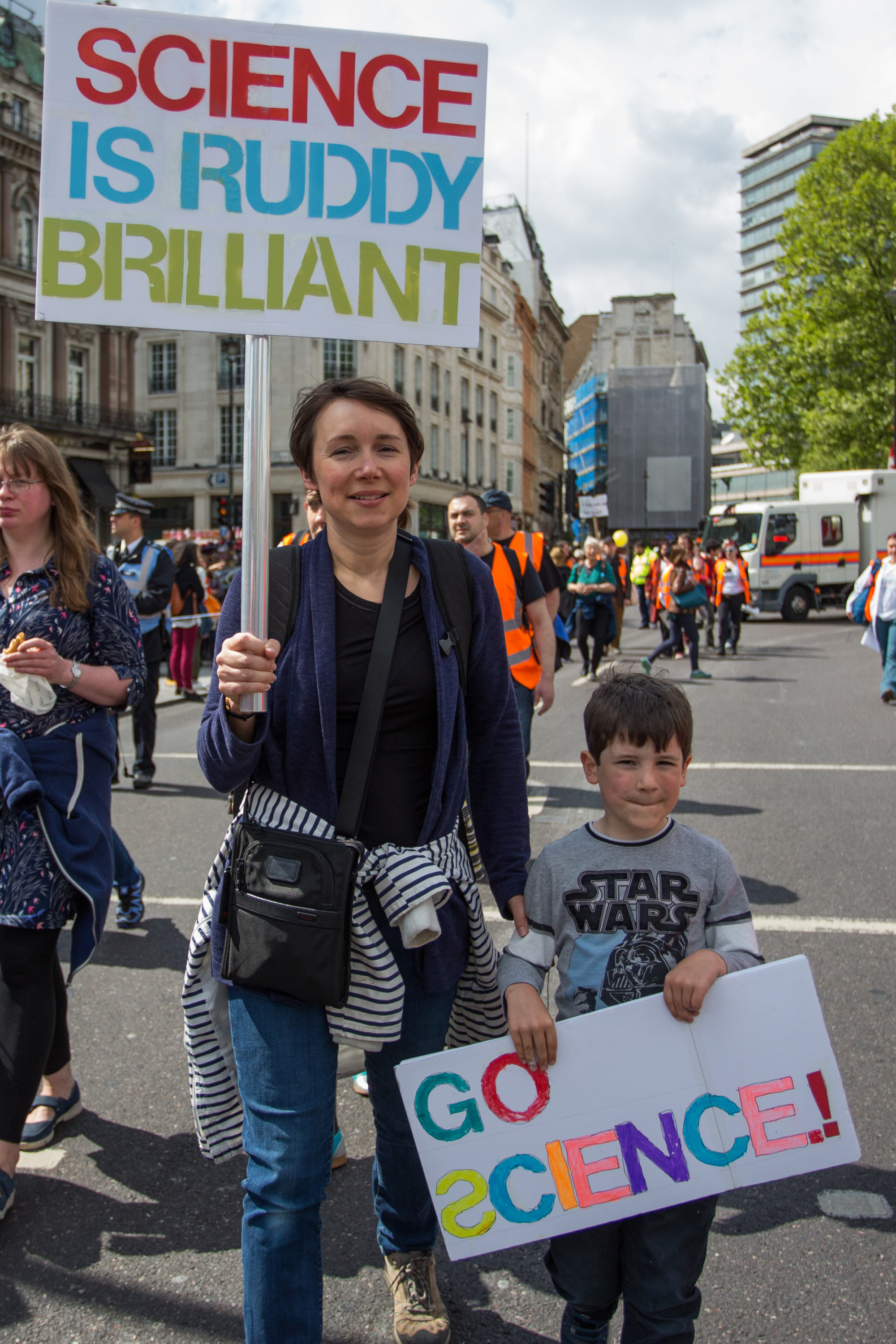 Scientists and science enthusiasts in London join hundreds of thousands of people in more than 400 locations across the globe to recognise scientific progress, raise awareness of scientific discovery, and defend scientific integrity.                                                                      Featuring: Atmosphere, View                                   Where: London, United Kingdom                                   When: 22 Apr 2017                                   Credit: Wheatley/WENN