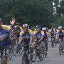 Cyclists stop in Gainesville while crossing Florida to raise awareness about disabilities