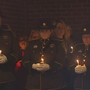 Hoquiam Police, community hold candlelight vigil to honor deputy killed