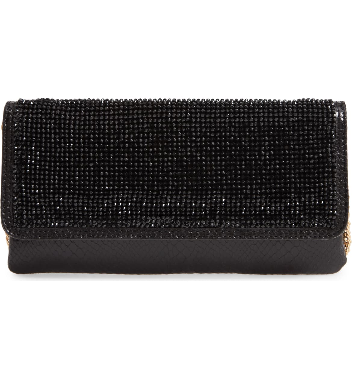 "<a  href=""https://shop.nordstrom.com/s/steve-madden-rhinestone-snakeskin-embossed-clutch/5444730/full?origin=keywordsearch-personalizedsort&breadcrumb=Home%2FAll%20Results&color=black"" target=""_blank"" title=""https://shop.nordstrom.com/s/steve-madden-rhinestone-snakeskin-embossed-clutch/5444730/full?origin=keywordsearch-personalizedsort&breadcrumb=Home%2FAll%20Results&color=black"">Steve Madden Rhinestone Snakeskin Embossed Clutch - $68</a>. From cozy to gold hued to tailored, Nordstrom has the hottest trends for getting glam this holiday season! (Credit: Nordstrom)"
