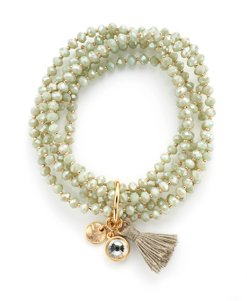 LOFT Tassel Multistrand Stretch Bracelet // Price: $24.50 // Purchase at LOFT stores // (Photo: LOFT)
