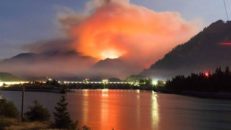 Albany Fire Department is sending firefighters to the Eagle Creek Fire and the Chetco Bar Fire
