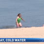 Warning for swimmers: Lake Michigan is still very cold