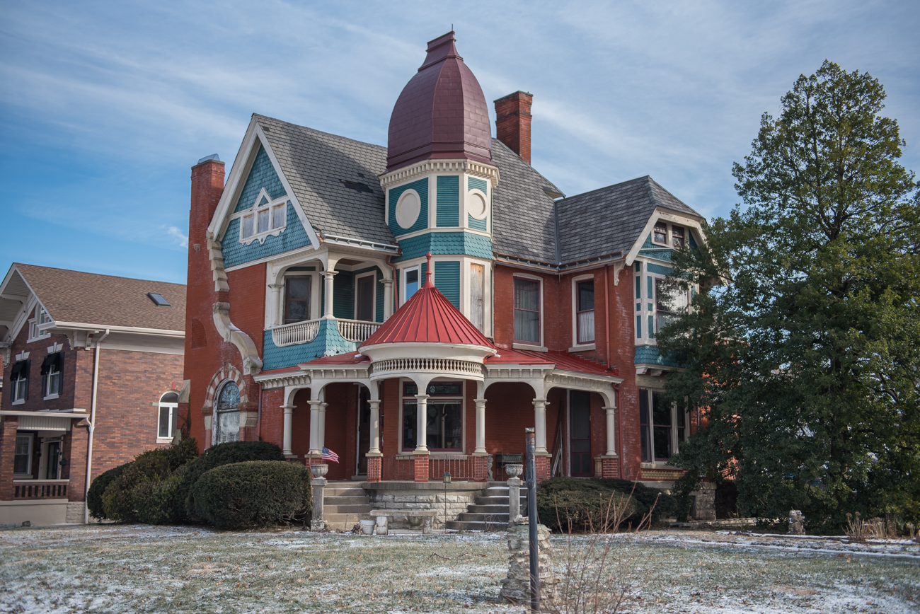 A Victorian house built in 1890 by famed architect George Franklin Barber / Image: Mike Menke{ }// Published: 2.14.19