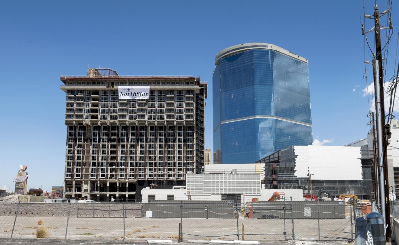 Riviera hotel and casino demolition