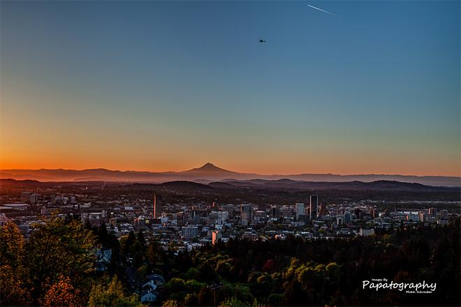 Pittock Mansion Sunrise (Photo courtesy YouNews contributor: MitchSchreiber)