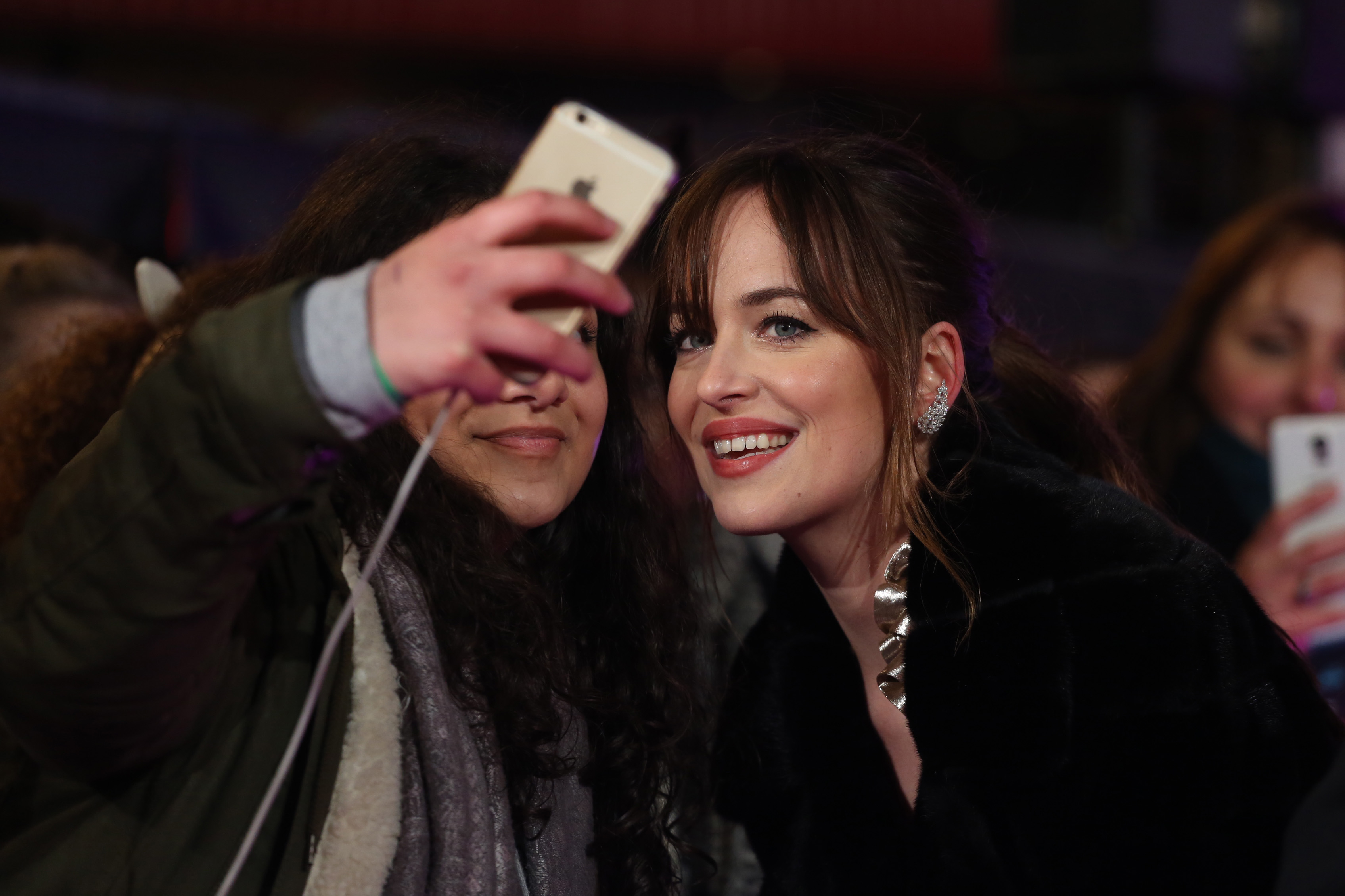 How To Be Single European Premiere Held At The Vue Cinema  Arrivals  Featuring: Dakota