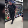 ADORABLE: Young girls teach police officer how to skip
