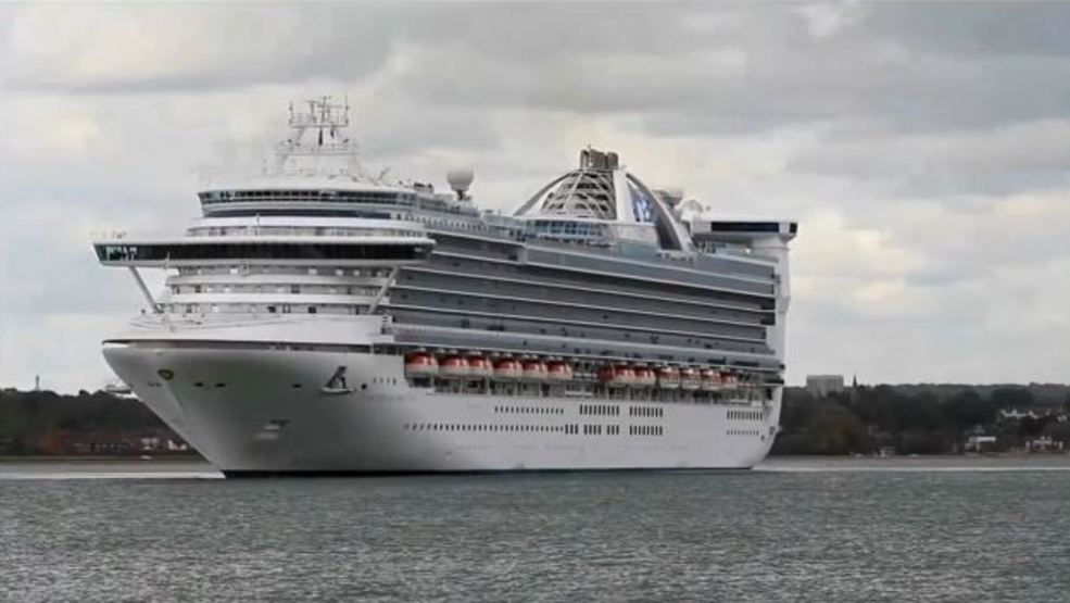 Girl Dies In Fall On Cruise Ship Docked In Miami KUTV - What happens when someone dies on a cruise ship