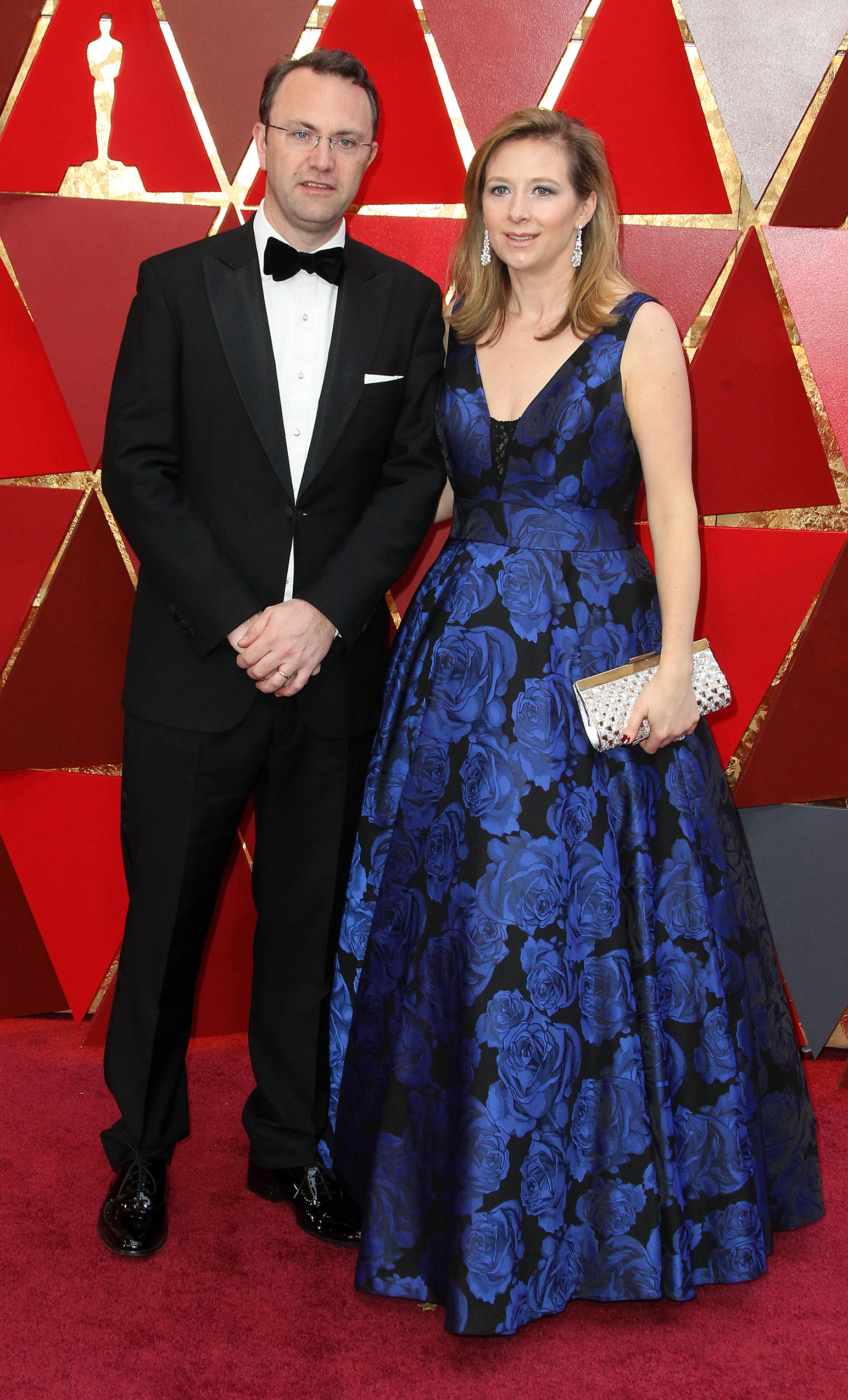 Jonathan and Camilla Fawkner{&amp;nbsp;}arrive at the 90th Annual Academy Awards (Oscars) held at the Dolby Theater in Hollywood, California. (Image: Adriana M. Barraza/WENN.com) <p></p>