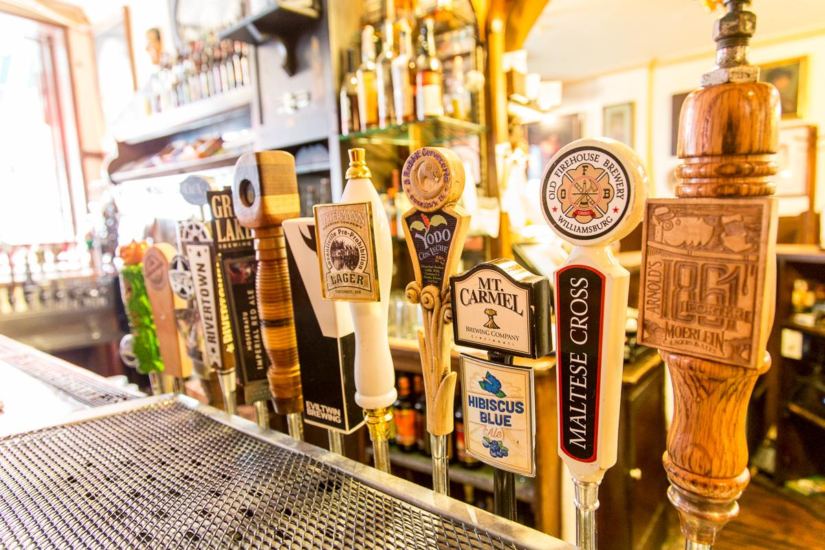 Arnold's has over 20 varieties of beer on draft.  --  Image: Daniel Smyth Photography