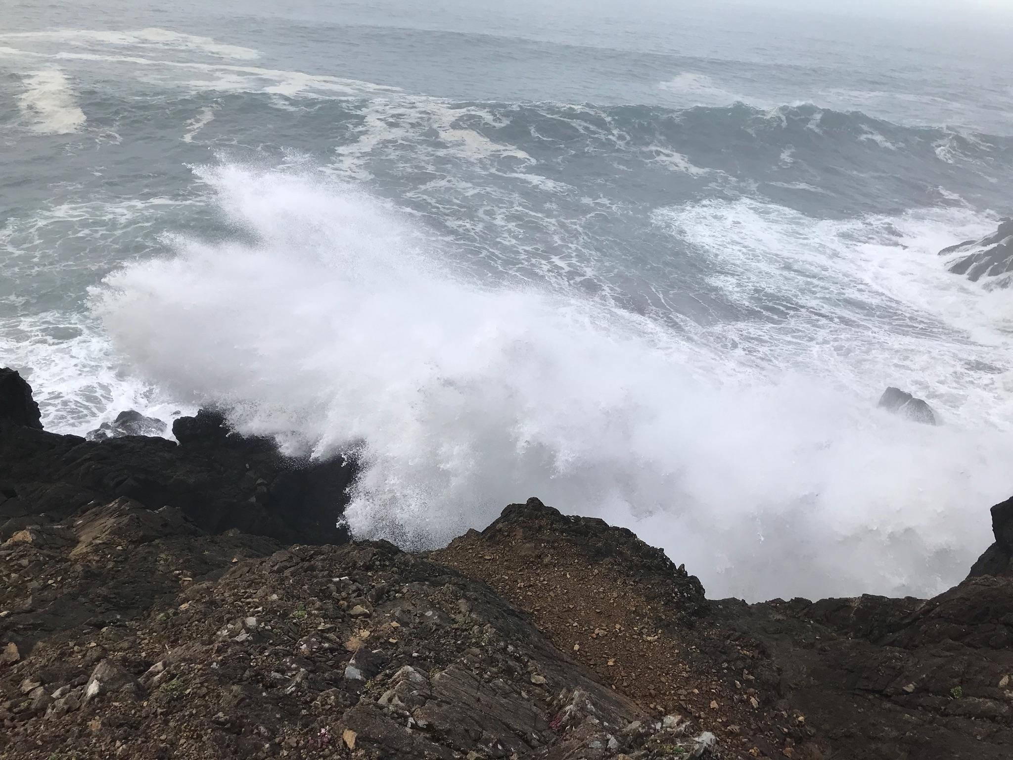 Christopher M. Kareck, 21, of Sparks, Nevada, was swept off some rocks into the ocean near the Indian Sands Trail on Wednesday, police said. State police from Gold Beach responded at 10:35 a.m., along with the U.S. Coast Guard. (OSP)<p></p>
