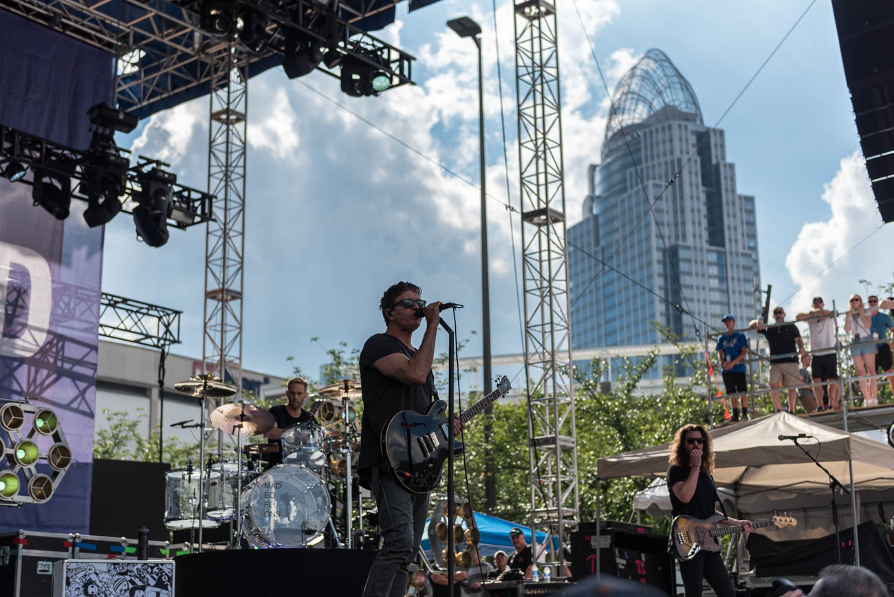Third Eye Blind performs on Saturday, June 2. / Image: Mike Menke // Published: 6.3.18