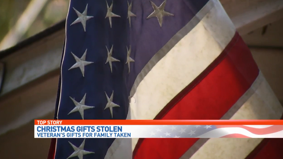 Family Heirloom Christmas Gifts Stolen From Local Veteran S Home