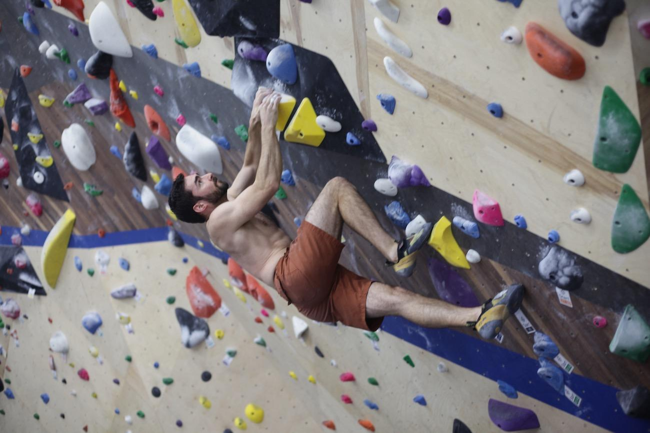 Climb Time is a rock climbing gym in Oakley that opened in August 2019. Climbers of all ages and skill levels can enjoy the sport. Patty Law, owner and president of the gym, opened a complex in Blue Ash in 2000, but wanted to re-invest back into the Oakley community where she lives. Her 12,000-square-foot facility features 45-foot climbing walls covered in some 15,000 holds. There are also 30 top rope lanes, 42 leadable lanes, eight autobelay devices, and two bouldering areas where you can climb without ropes. ADDRESS: 4460 Orkney Avenue (45209) / Image: Chez Chesak // Published: 2.1.20