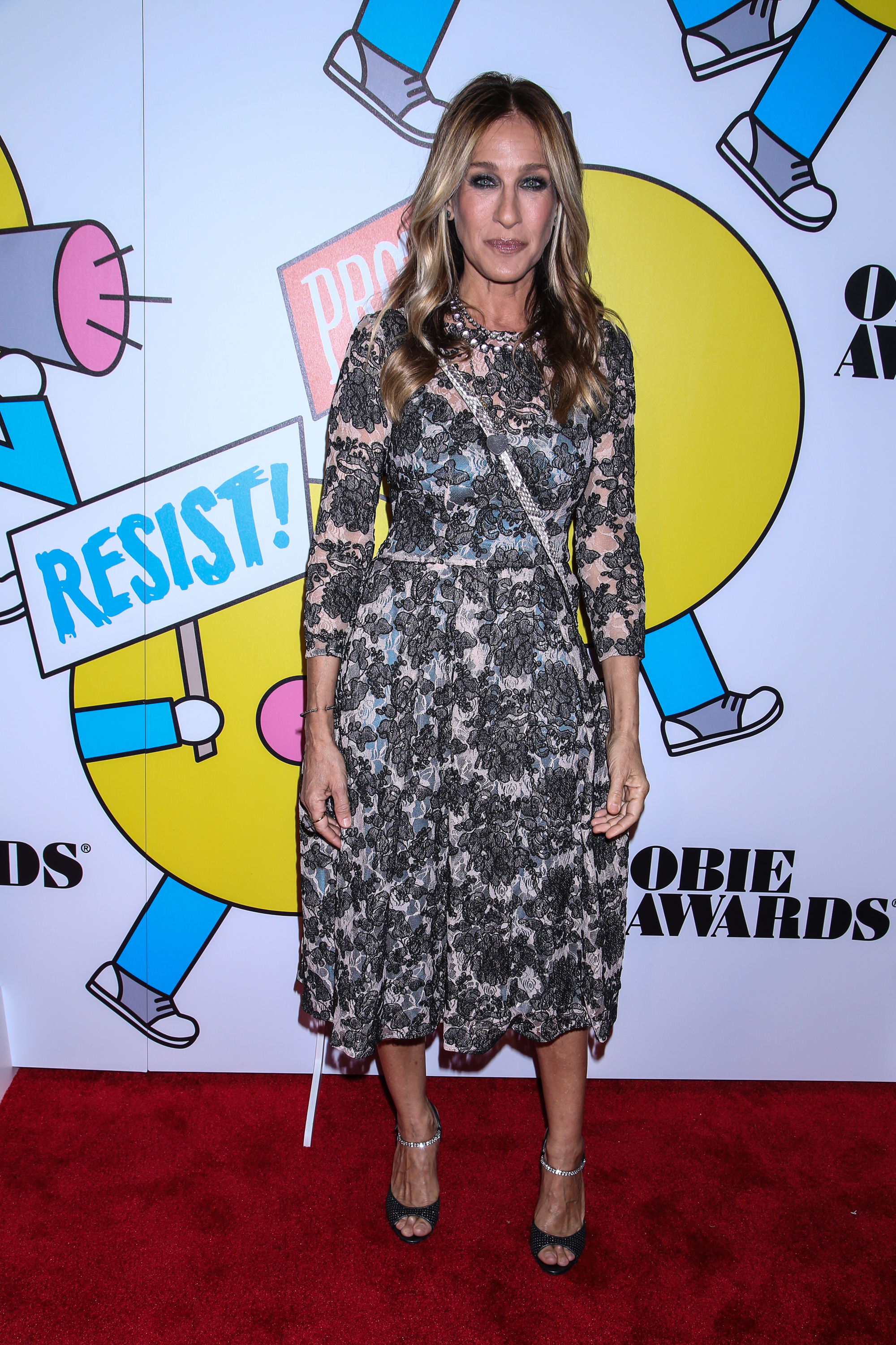 62nd Annual OBIE Awards held at Webster Hall - Arrivals.                                    Featuring: Sarah Jessica Parker                  Where: New York, New York, United States                  When: 22 May 2017                  Credit: Joseph Marzullo/WENN.com                                    **No Contact Music**