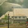 Local firefighters help save historic Multnomah Falls Lodge