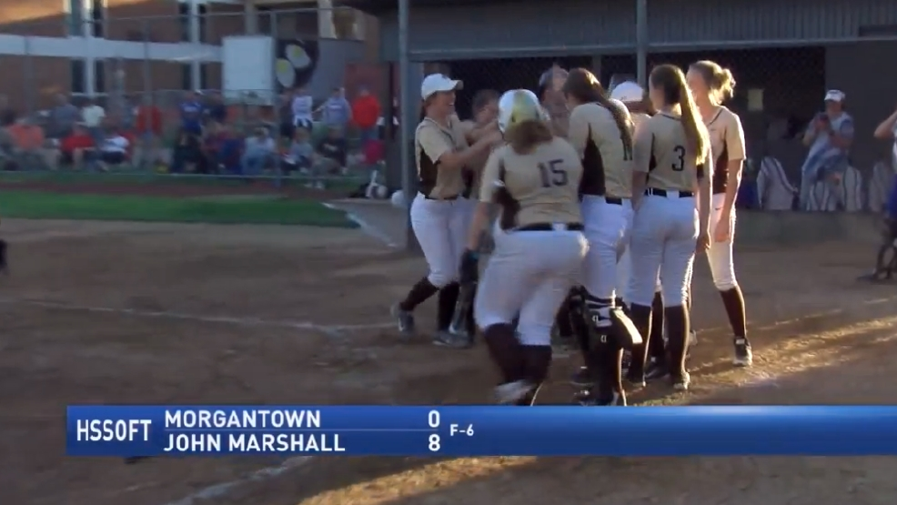 5.15.17 Highlights - Morgantown vs John Marshall - regional softball
