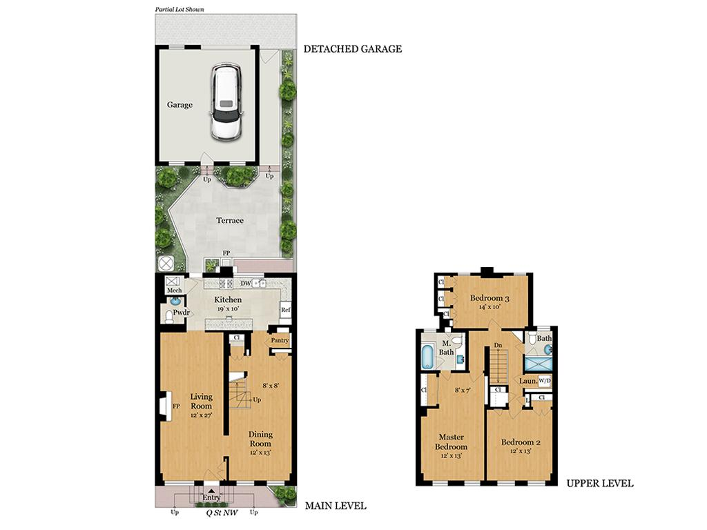 Floor plan rendering (Image: Courtesy TTR Sotheby's)<p></p>