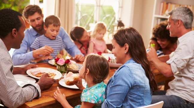 Holidays are Family Time: To Stay Healthy, Talk More than Turkey