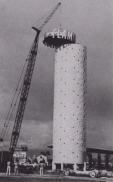 Champagne Tower Construction (UNLV Special Collections)
