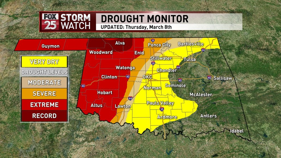 Record-level drought conditions recorded in western Oklahoma | KOKH