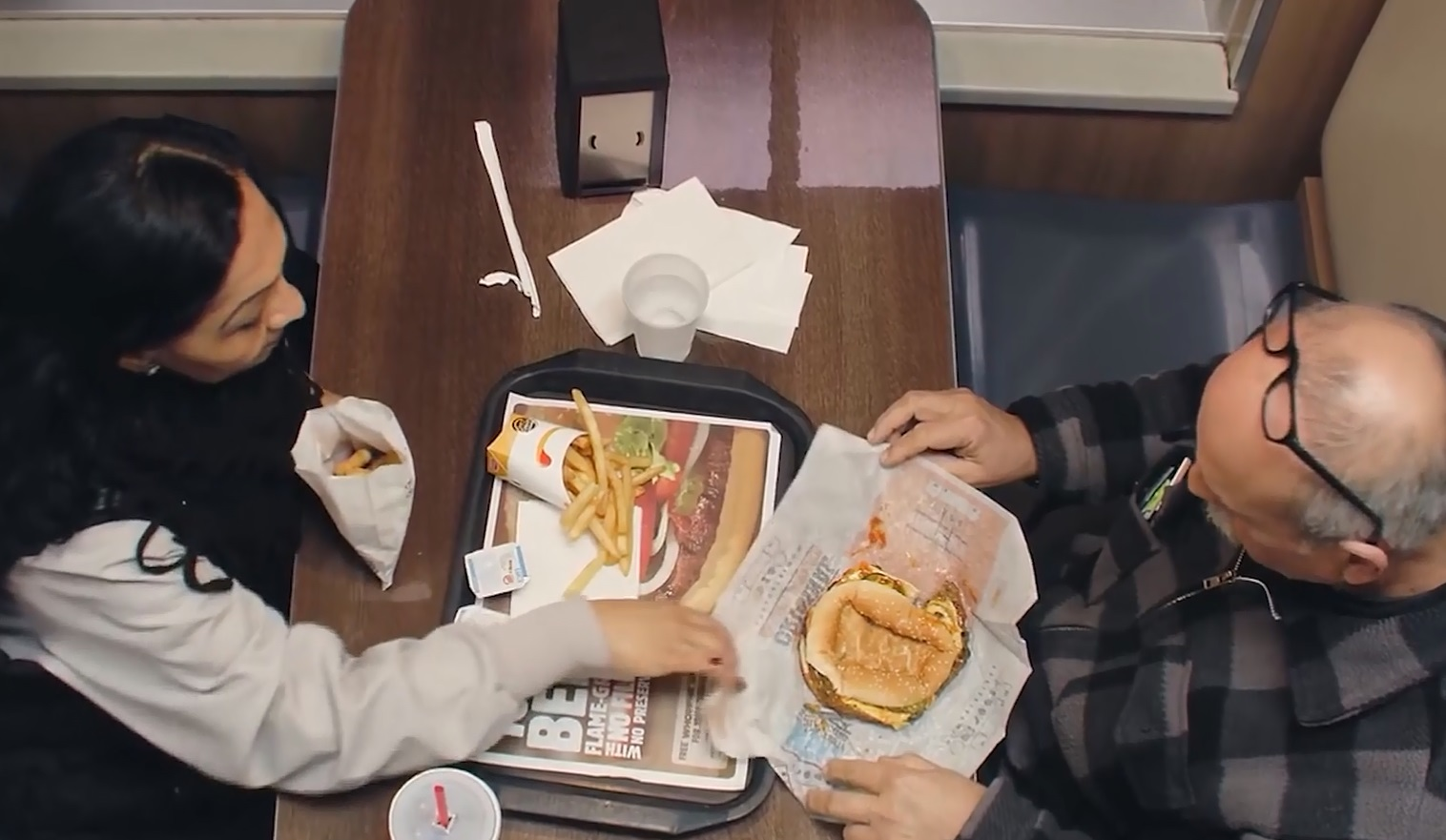 Burger King joined an anti-bullying group to produce a powerful message against bullying. (CNN Newsource)
