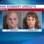 Two charged in Coralville bank robbery