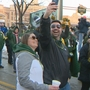 Packers fans enjoy winnings from bet with New York City mayor