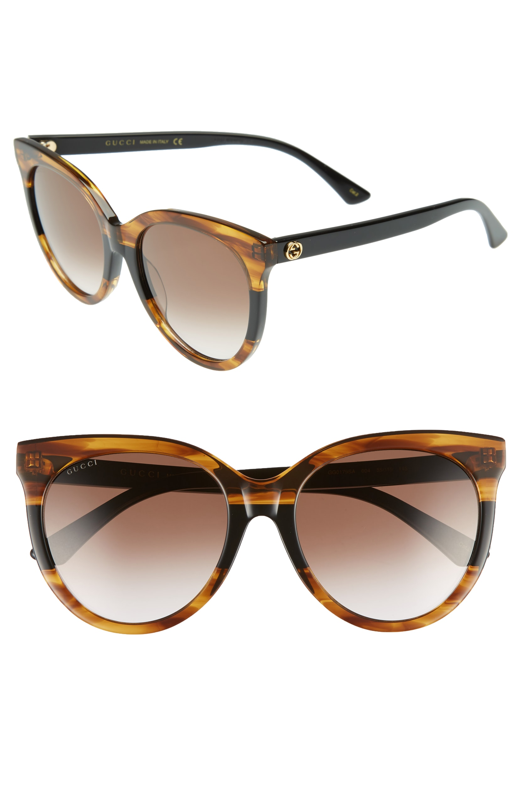 Gucci Round Sunglasses. Sale: $267.90 / After Sale: $400.00. (Image: Nordstrom){ }