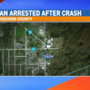 Driver arrested, woman critical after crash in Ravenna