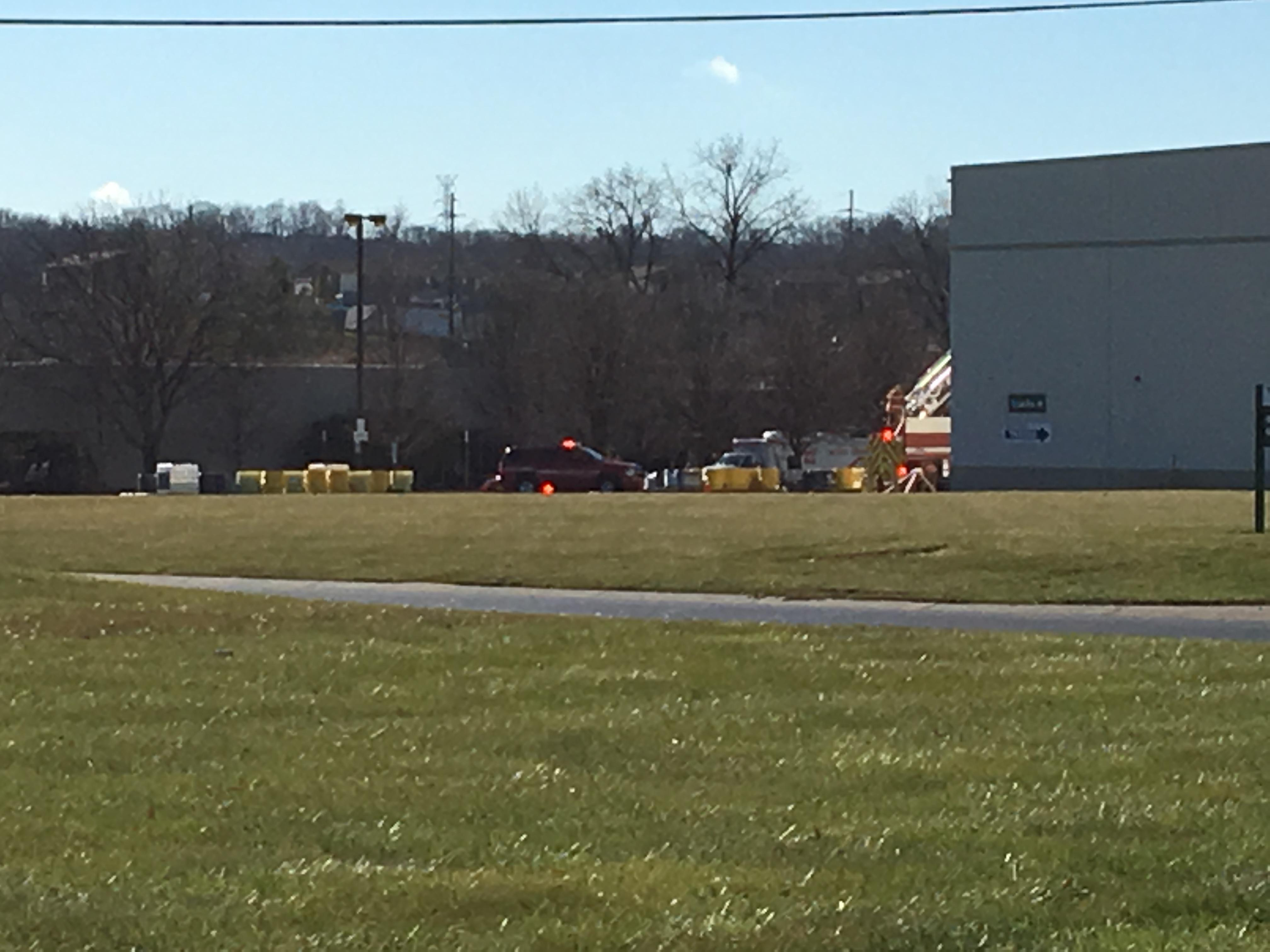 Roads are blocked off due to a situation at Commonwealth Chemicals in Fairfield (WKRC)