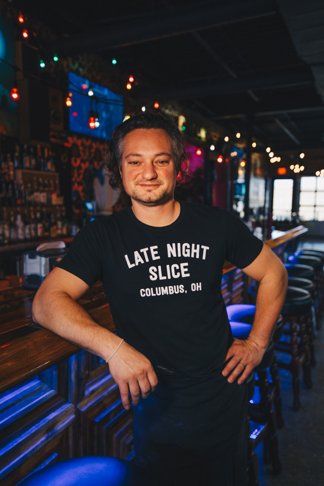 Mikey Sorboro, founder of Late Night Slice / Image: Catherine Viox // Published: 4.4.19