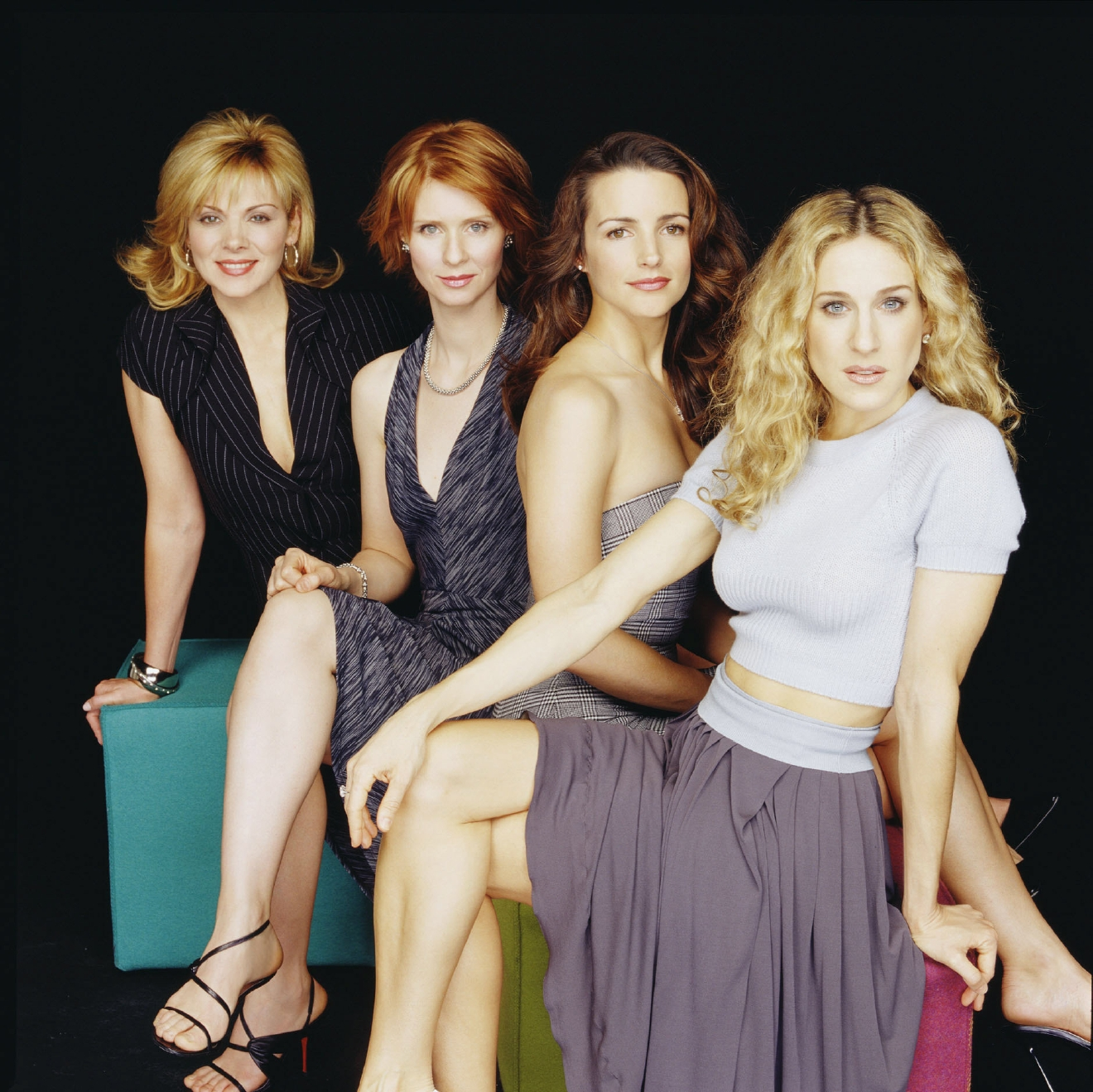 Still image from the HBO TV Series 'Sex and the City' - Season 4                                    Featuring: Sarah Jessica Parker, Kim Cattrall, Cynthia Nixon, Kristin Davis                  Where: New York City, New York, United States                  When: 14 Jun 2013                  Credit: WENN.com